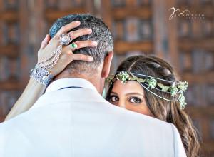 Bel-Air Bay Club Wedding Couple