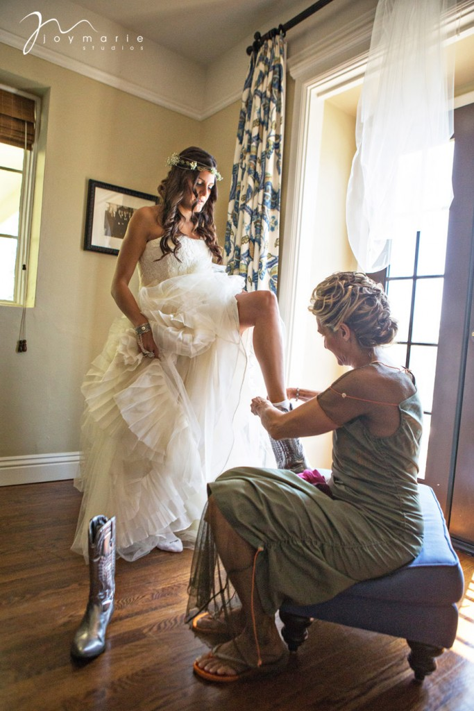 Bride Getting Ready by Joy Marie Photo