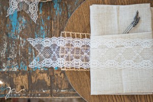Moroccan Lace Wedding Detail
