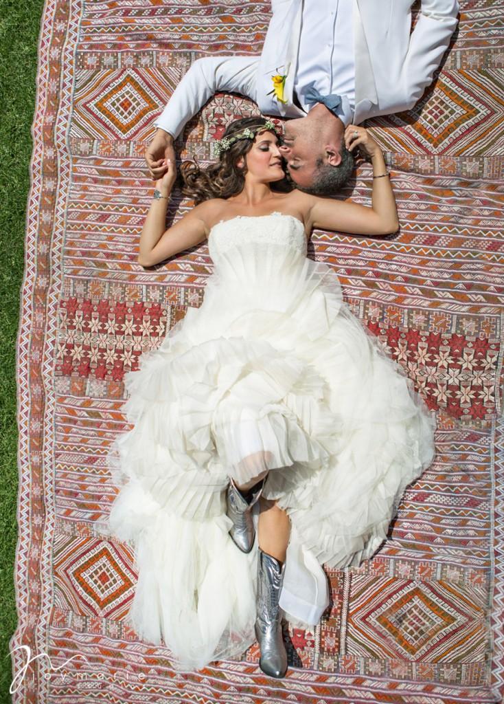 Moroccan Wedding Bride and Groom